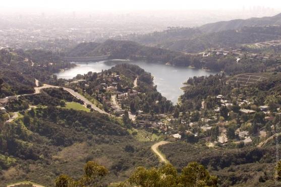 Лос-Анджелес: парк Гриффит и надпись «Голливуд»