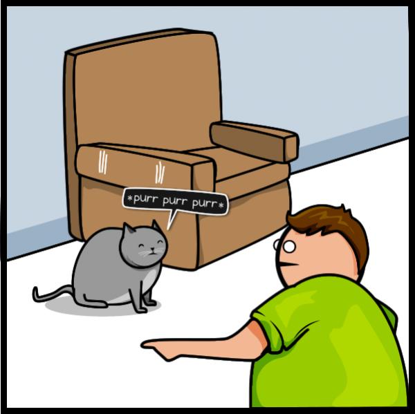 Кот против Интернет