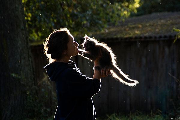 Фотоподборка. Животные и люди 9