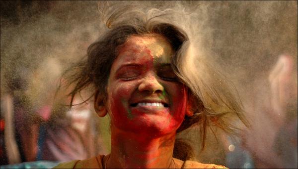 Фестиваль Холи в Индии