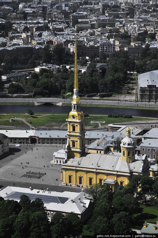 Петербург с высоты.