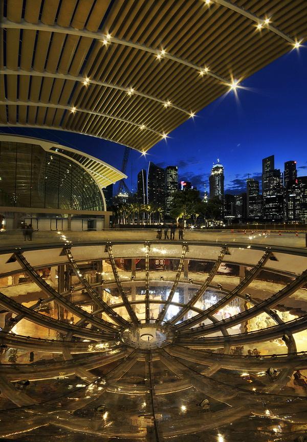 Новое чудо света в Сингапуре