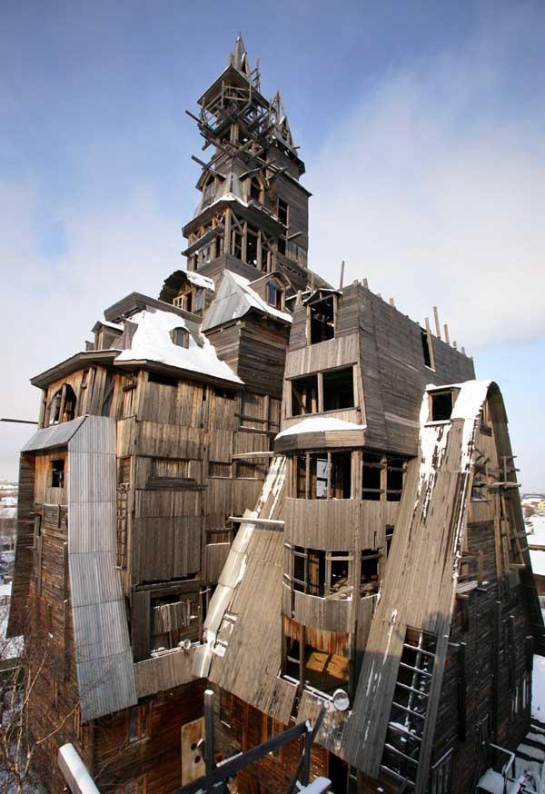 Необычные здания со всего света