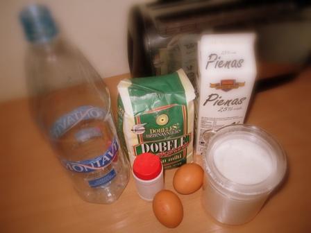 Готовим блины в бутылке