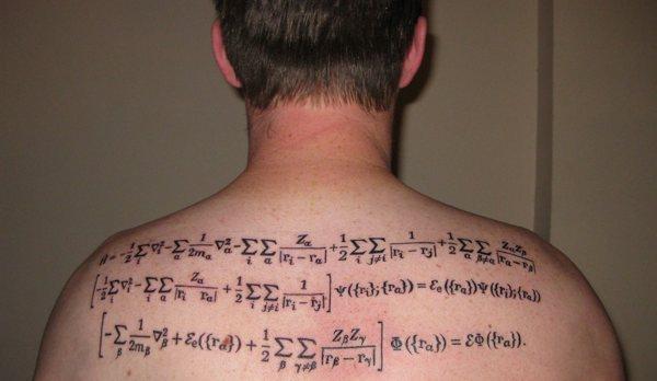 Научные татуировки