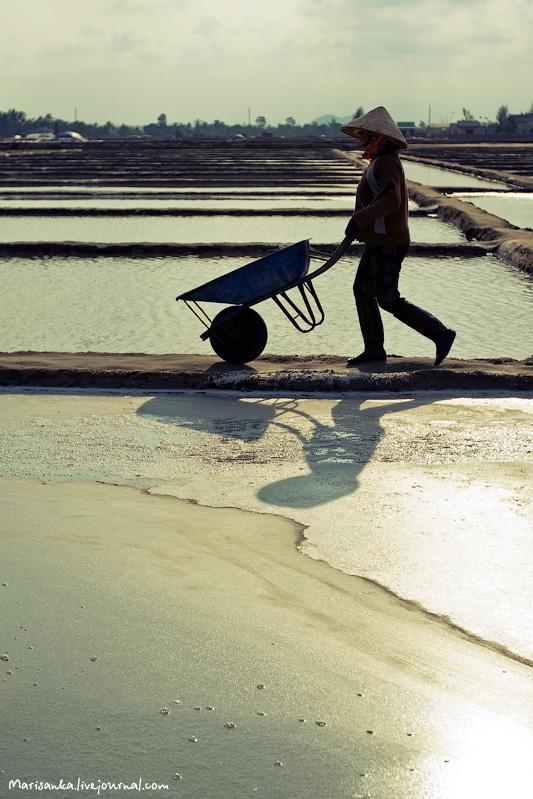 Как добывается морская соль