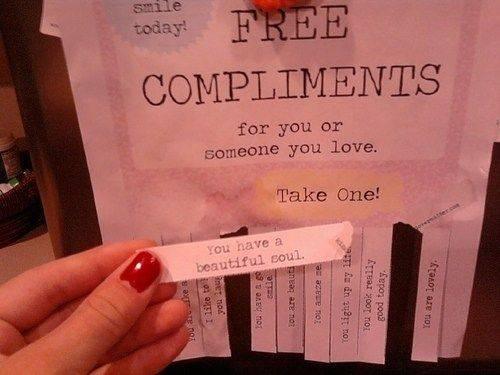 Бесплатные комплименты