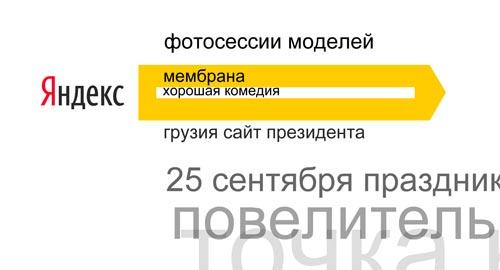 Что ищут пользователи Яндекс