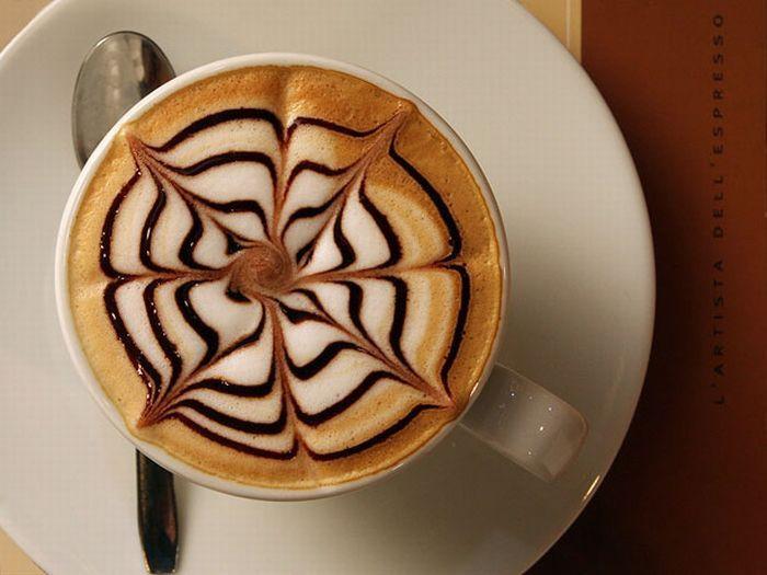 Как красиво подать кофе