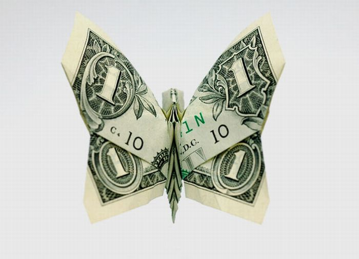 Фигурка из денег своими руками