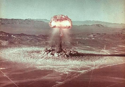 Ядерные испытания в США